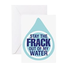 STAYTHEFRACK2 Greeting Card