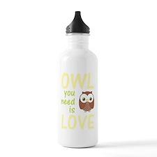 owlyouneedislovedark Water Bottle