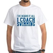 I Coach Swimming T-Shirt