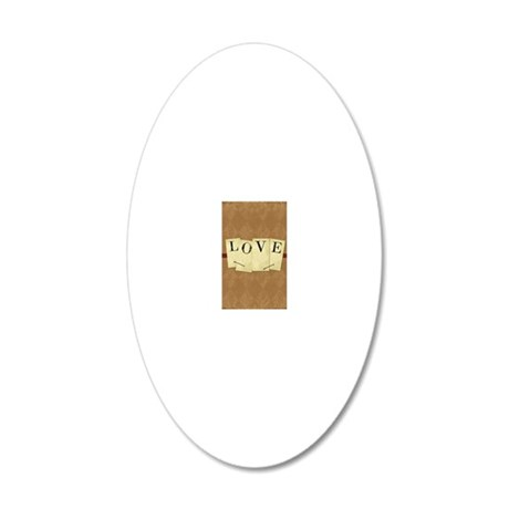 vintagelove 20x12 Oval Wall Decal