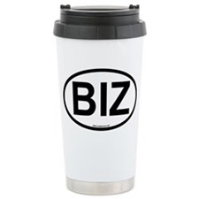 biz Ceramic Travel Mug