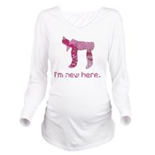 hi_new_1 Long Sleeve Maternity T-Shirt
