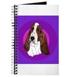 Adorable Basset Hound Journal