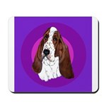 Adorable Basset Hound Mousepad
