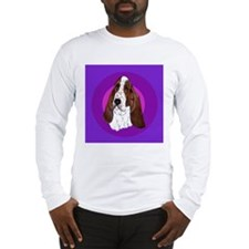 Adorable Basset Hound Long Sleeve T-Shirt