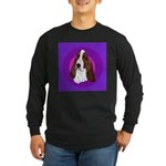 Adorable Basset Hound Long Sleeve Dark T-Shirt