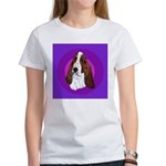 Adorable Basset Hound Women's T-Shirt