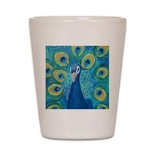 peacock_pack Shot Glass