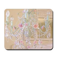 Shabby Chic Chandelier Mousepad