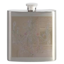 Shabby Chic Chandelier Flask