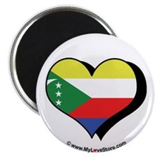 "I Love Comoros 2.25"" Magnet (100 pack)"
