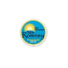 Romney New Hampshire Mini Button
