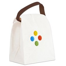 XboxThoughtBubble Canvas Lunch Bag
