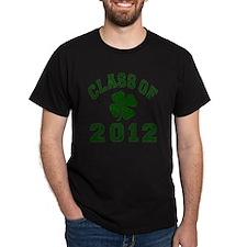 Class Of 2012 - Shamrock DK Green 2 D T-Shirt
