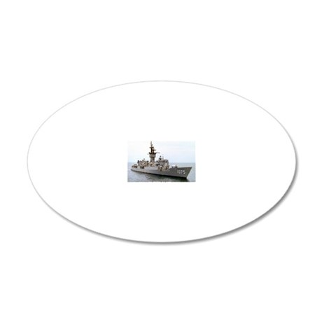 trippe de large framed print 20x12 Oval Wall Decal