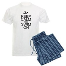 Keep Calm and Swim On pajamas