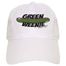 Black Green Weenie Baseball Cap