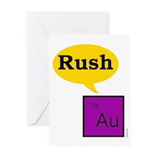Gold-Rush Greeting Card