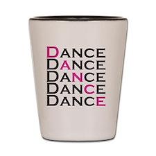 dance01 Shot Glass