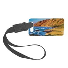 Christmas Eve Sunset b shirt Luggage Tag