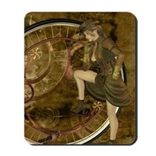 victorian woman Mousepad