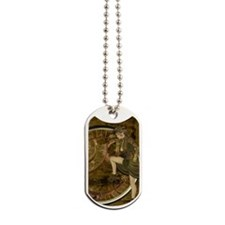 victorian woman Dog Tags