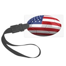 usa oval Luggage Tag