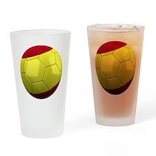 spain round Drinking Glass