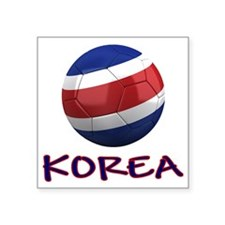"north korea ns Square Sticker 3"" x 3"""