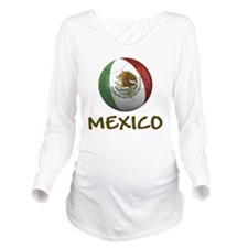 mexico ns Long Sleeve Maternity T-Shirt