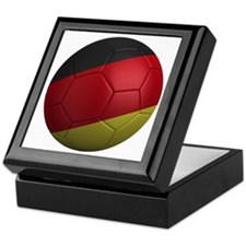 germany round Keepsake Box
