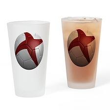 england round Drinking Glass