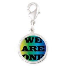 We Are One XXV Silver Round Charm
