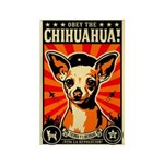 Chihuahua Propaganda Magnets (10 pack)