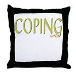 (sorta) Coping Throw Pillow