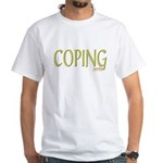 (sorta) Coping White T-Shirt