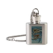 siren sisters covered version Flask Necklace