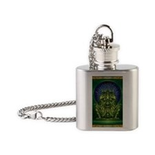 cthulhugod Flask Necklace