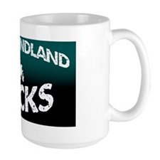 newfoundland rocks Ceramic Mugs