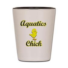 Aquatics Chick Shot Glass