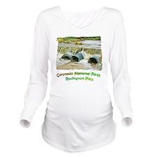 Redington Pass River Long Sleeve Maternity T-Shirt