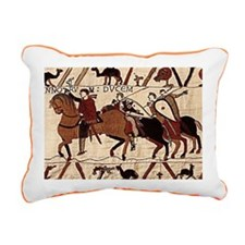 shoulderbag_back_bayeux Rectangular Canvas Pillow