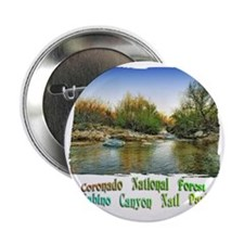 "Sabino Canyon Pool of Water 2.25"" Button"