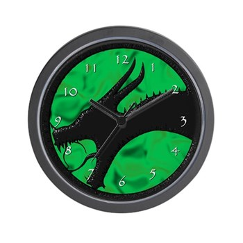 LoGD Medallion Wall Clock