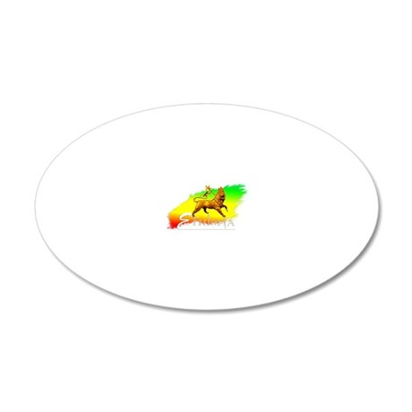 moa anbessa-4 - Copy 20x12 Oval Wall Decal