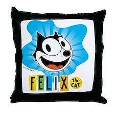 spotblue Throw Pillow