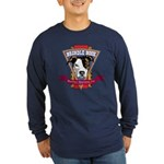 Brindle Bock Long Sleeve Dark T-Shirt
