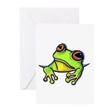 Pocket Frog Greeting Cards (Pk of 10)