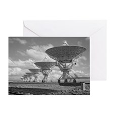 VLA 4-08 Poster Greeting Card