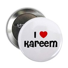 "I * Kareem 2.25"" Button (10 pack)"